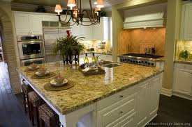 kitchen idea of the day gourmet kitchen featuring a large island