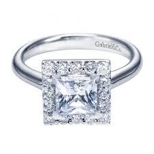 princess cut halo engagement ring 1 65cttw princess cut halo engagement ring with plain