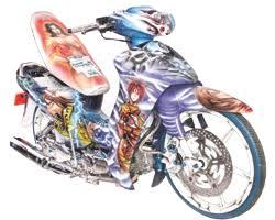 motor airbrush