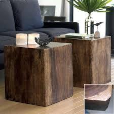 Cube Side Table Cube Side Table Housetohome Co