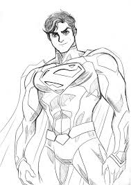 drawing pictures superman drawing art ideas