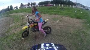 where can i ride my motocross bike my sister can ride on my dirt bike with 9 years old youtube