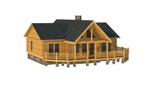 log cabin floor plans with garage oconee plans u0026 information southland log homes
