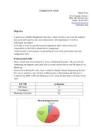 Hr Internship Resume New Cv Sanya Noor