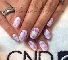 cnd shellac watercolour pastel nails gel polish nail art youtube