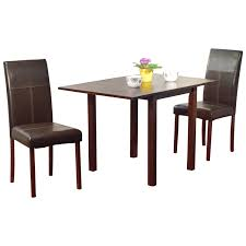 dining room 3 pieces dining sets in bettega theme with parsons