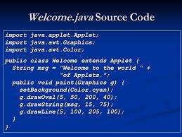 applets java api ppt video online download