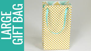 big gift bags how to make a large size gift bag gift bag punch board