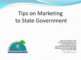 d agement bureau tips on marketing to state government gwenn d godfrey chief bureau