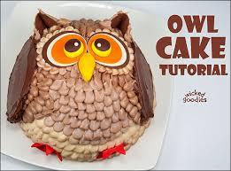 owl cake how to make an owl cake