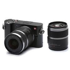 amazon com yi m1 4k 20 mp mirrorless digital camera with