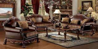 traditional sofas with wood trim brown leather sofa wood trim www gradschoolfairs com