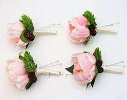 groomsmen boutonnieres hops boutonniere etsy