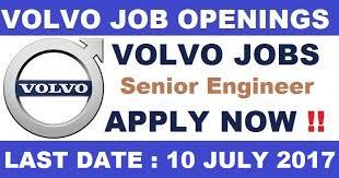 volvo official website volvo job openings for senior engineer post all job openings