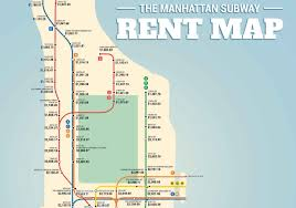 Map Of Subway Nyc by Subway Rent Map Shows Manhattan Rental Prices Along Each Train