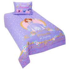 disney jr sofia princess training twin comforter