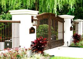 Front Yard Metal Fences - fence metal fence gate fearsome metal fence gate installation