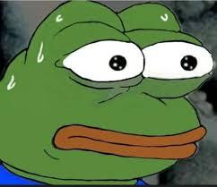 Meme Shock - shocked pepe blank template imgflip