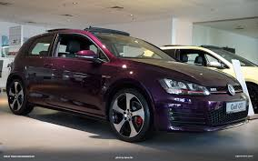 volkswagen gti custom car spotting u0027violet touch u0027 purple gti in doha qatar vwvortex