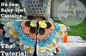 Infant Halloween Costume Patterns Sew Baby Owl Costume Diy Momista Beginnings