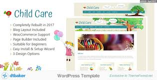 creative font design online child care creative wordpress shop theme by dtbaker themeforest