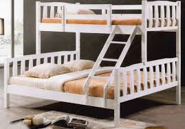 SSBB Single Over Queen Size Wooden End   PM - Queen single bunk bed