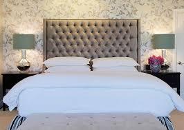 Grey Tufted Headboard King Bedroom Surprising Diamond Tufted Steel Grey Velvet Wingback