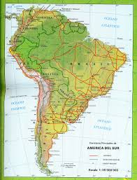 Map Of South America by South America Maps Maps Of South America Ontheworldmapcom
