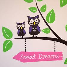 tree with owls and butterflies wall stickers by parkins interiors tree with owls and butterflies wall stickers