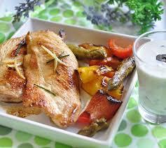 cuisiner des filets de poulet filets de poulet grillé aux légumes du sud envie de bien manger