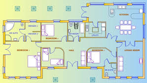 pictures 4 bed bungalow plans free home designs photos