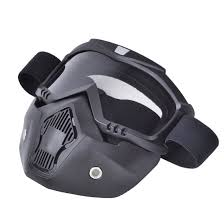 goggles for motocross amazon com chcycle motorcycle motocross face mask with detachable