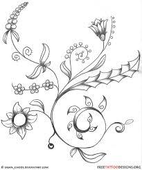 tattoo flower drawings flower tattoo gallery 70 flower designs