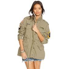 Denim And Supply Jacket Denim U0026 Supply Ralph Lauren Military Patches Field Jacket In Green