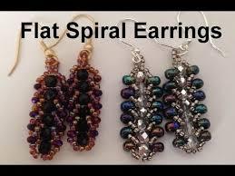 beginner earrings flat spiral earrings beginner tutorial