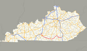 Tennessee Kentucky Map by Kentucky Route 90 Wikipedia