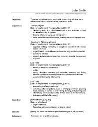 Samples Of Objectives For Resume by Resume Objectives Samples Resume Templates