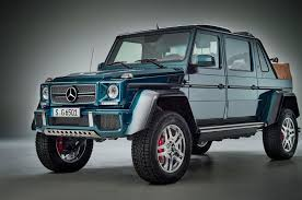 maybach and mercedes look mercedes maybach g650 landaulet