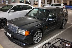 190e 1990 mercedes seen in a parking garage 1990 mercedes 190e 2 5 16 evolution