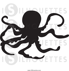 ocean silhouette clipart collection