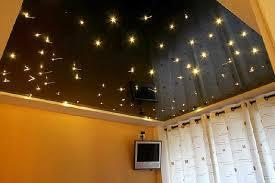 chambre ciel étoilé plafond tendu design façon ciel étoilé artisan sur marseille aix