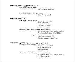 hair stylist resume template free sample hair stylist resume 7 free documents in pdf word