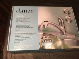 danze pull out kitchen faucet danze bravo chrome pull out kitchen faucet south