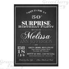 surprise birthday party invitation wording for adults unique
