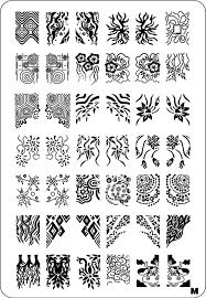 unicorn love uberchic nail stamp plates nail art stamping plates