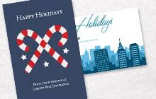 business christmas cards business christmas cards company cards vistaprint