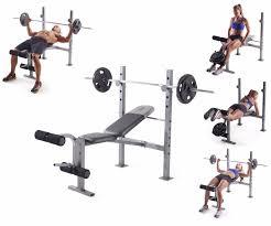 Leg Developer Bench Weight Bench Set Press U0026 Adjustable Weights Rack Leg Developer Gym