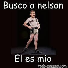 Meme Nelson - paginas de memes y vi祓etas meme de busco a nelson el es mio