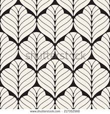 seamless pattern modern ornament geometric stylish stock vector