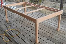 how to build a table base new life for an old bird 2 table base ready by patron